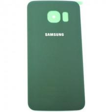 Capac baterie Samsung SM-G925F Galaxy S6 edge verde Original